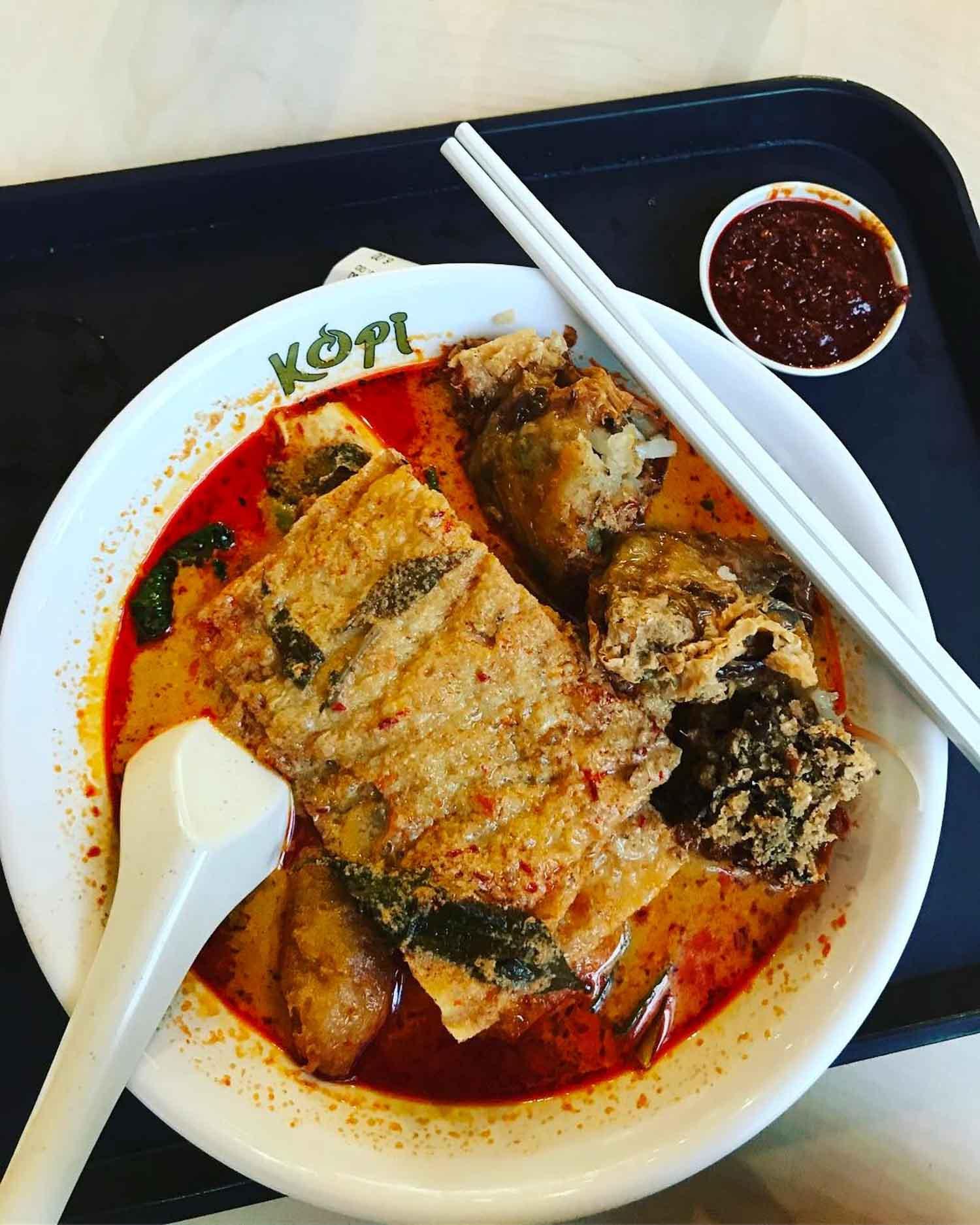 Yew Tee Food - Yew Tee Kopitiam Yong Tau Foo