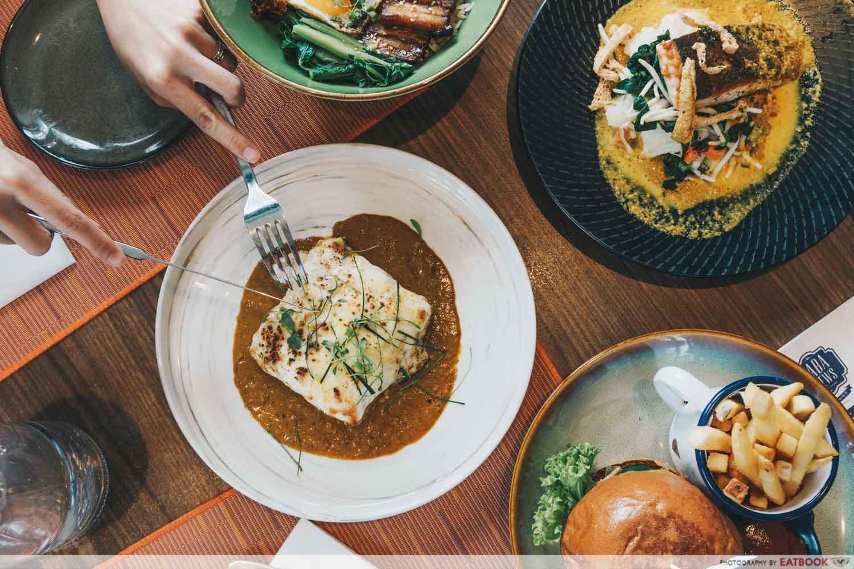 10 New Restaurants March - Baba Chews Chciken Rendang Lasagne
