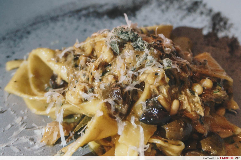 10 New Restaurants March - Pasta Bar pappardelle