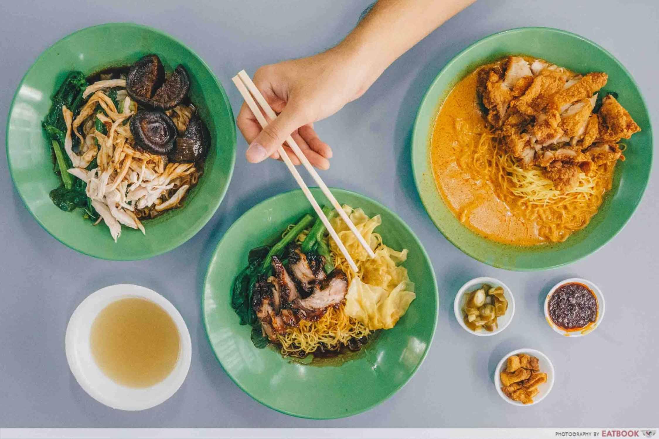 Cantonese Delights - Flatlay