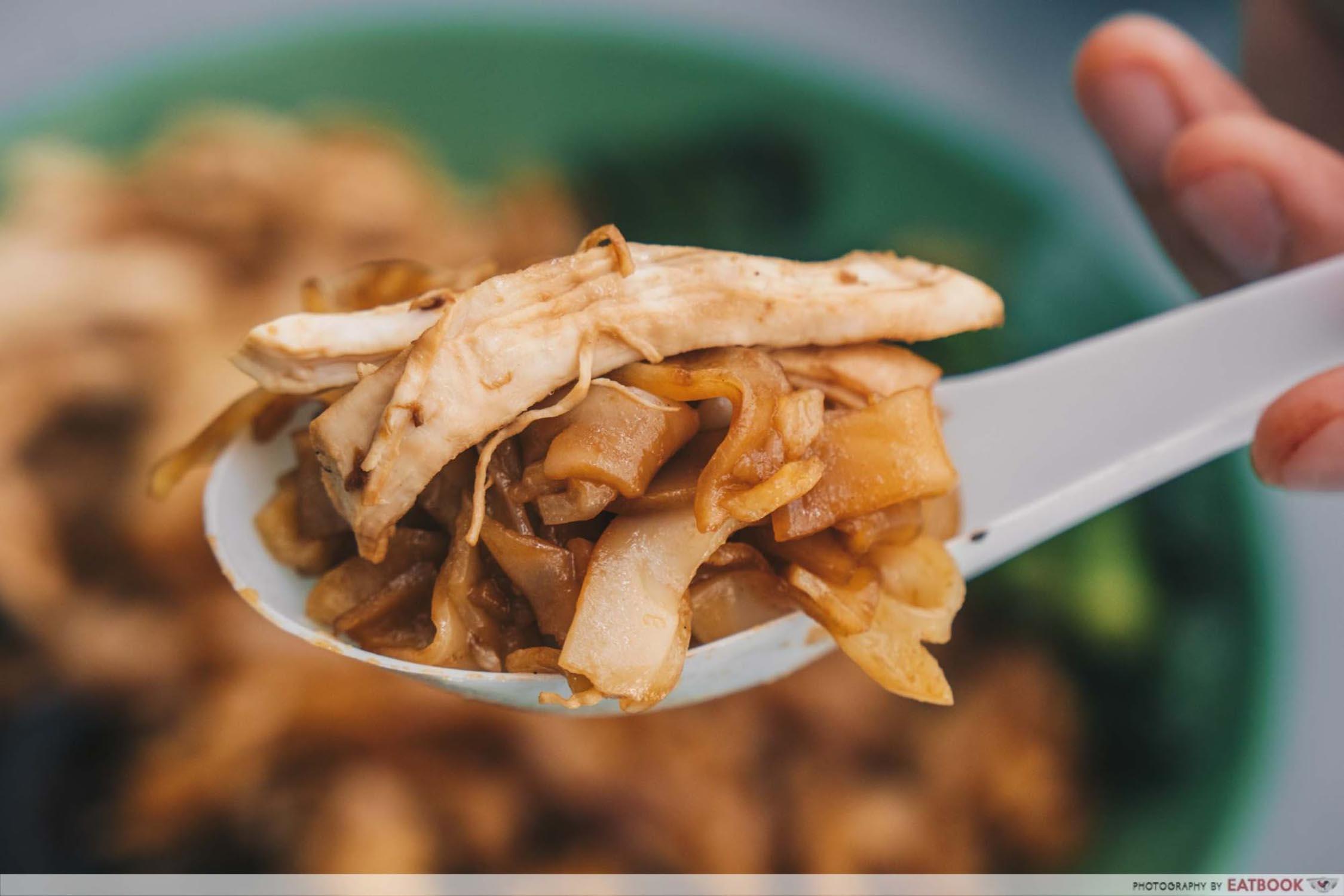 Cantonese Delights - Hor Fun Closeup
