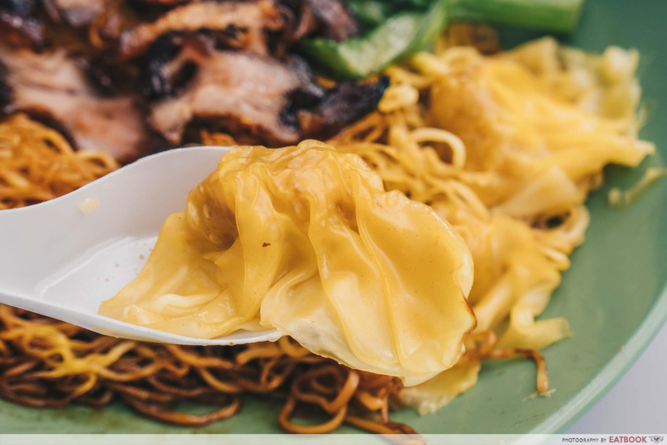 Cantonese Delights - Wonton Closeup