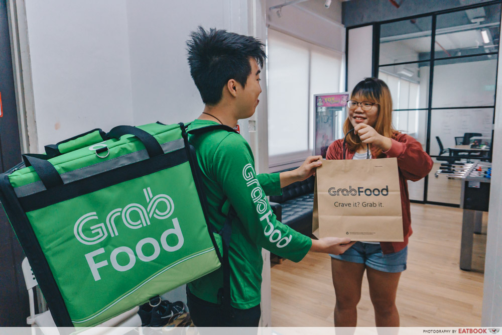 GrabFood Mcdonald Chinese New Year Delivery