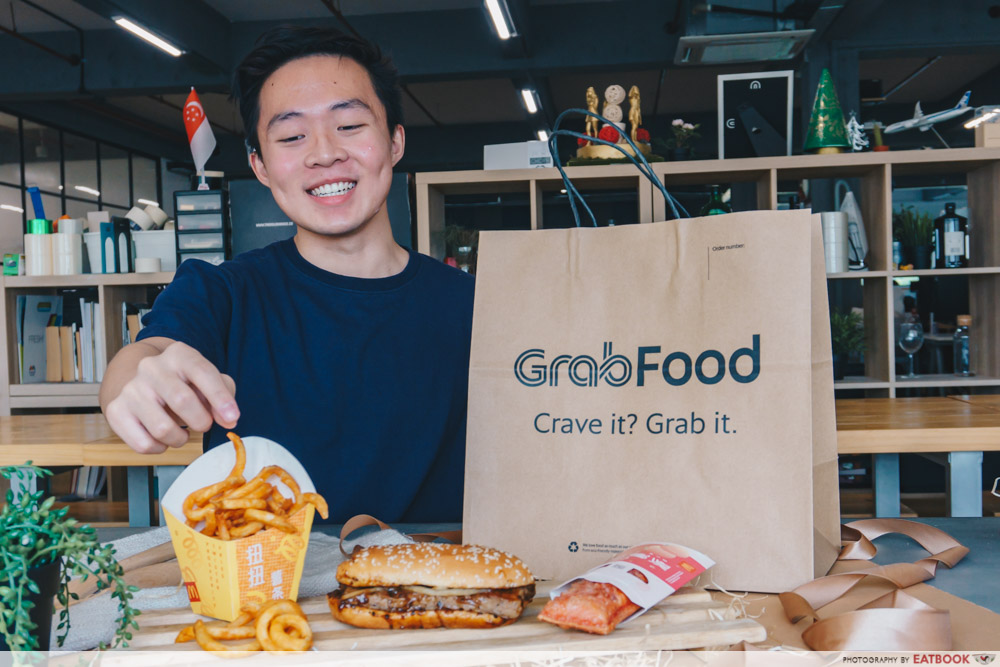 GrabFood Mcdonald Chinese New Year Prosperity Feast