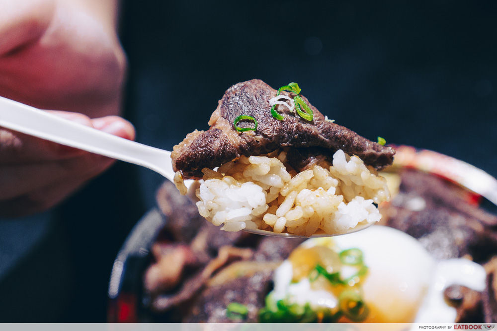 Gyu & Tori - Wagyu Don Rice