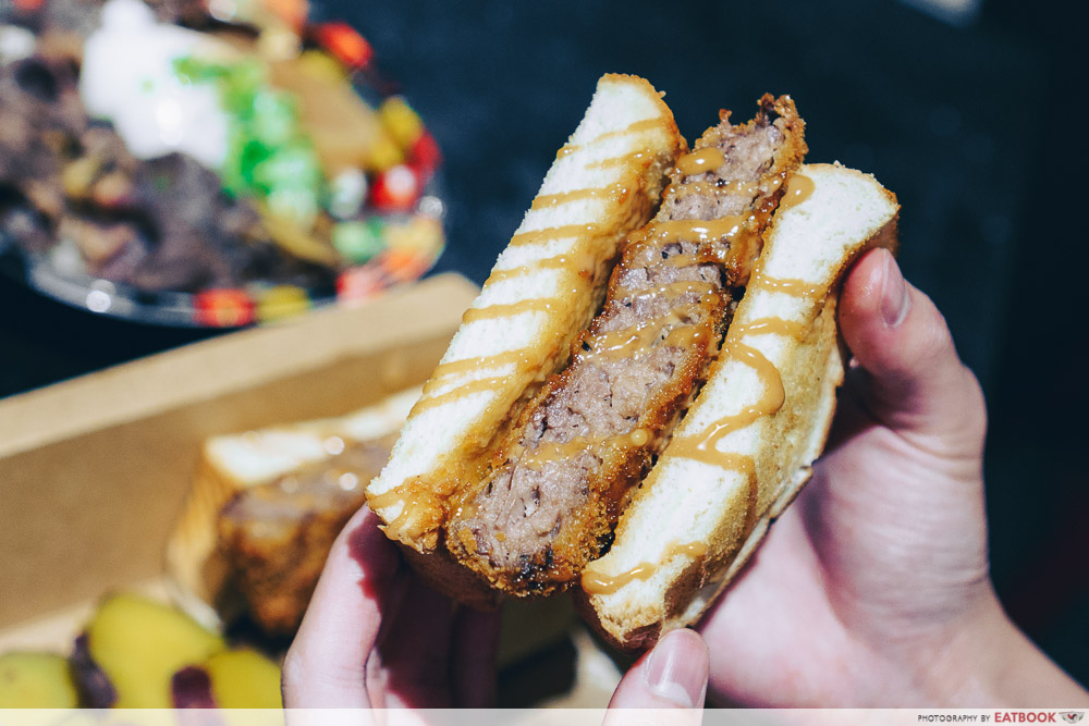 Gyu & Tori - Wagyu sandwich