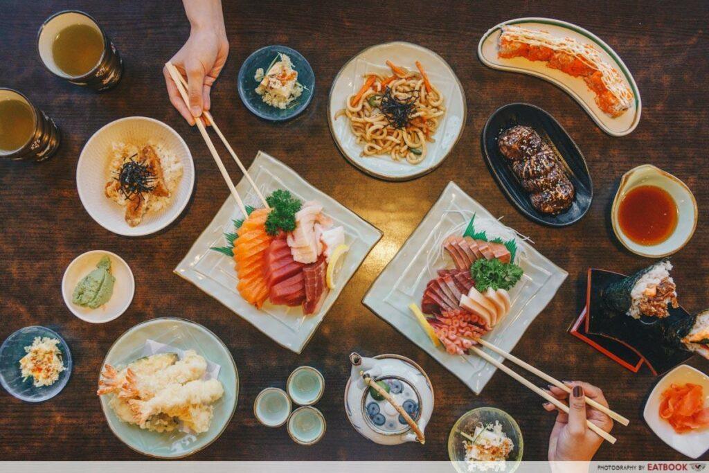 Japanese Restaurants Maybank Irodori Buffet