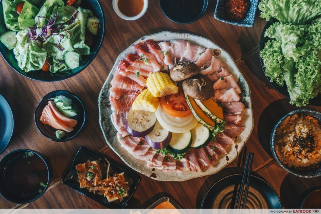 Japanese Restaurants Maybank - Tajimaya Yakiniku