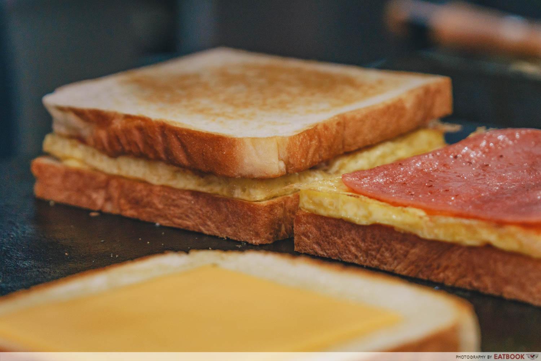 KToast K-toast cooking