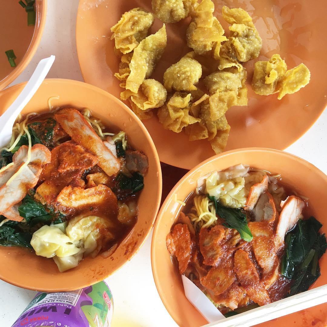 Kok Kee Wanton Noodles - fried wanton