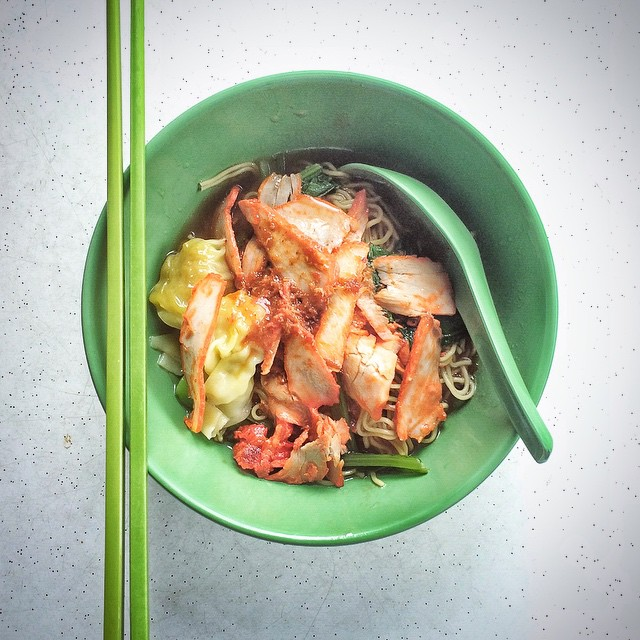 Kok Kee Wanton Noodles - wanton