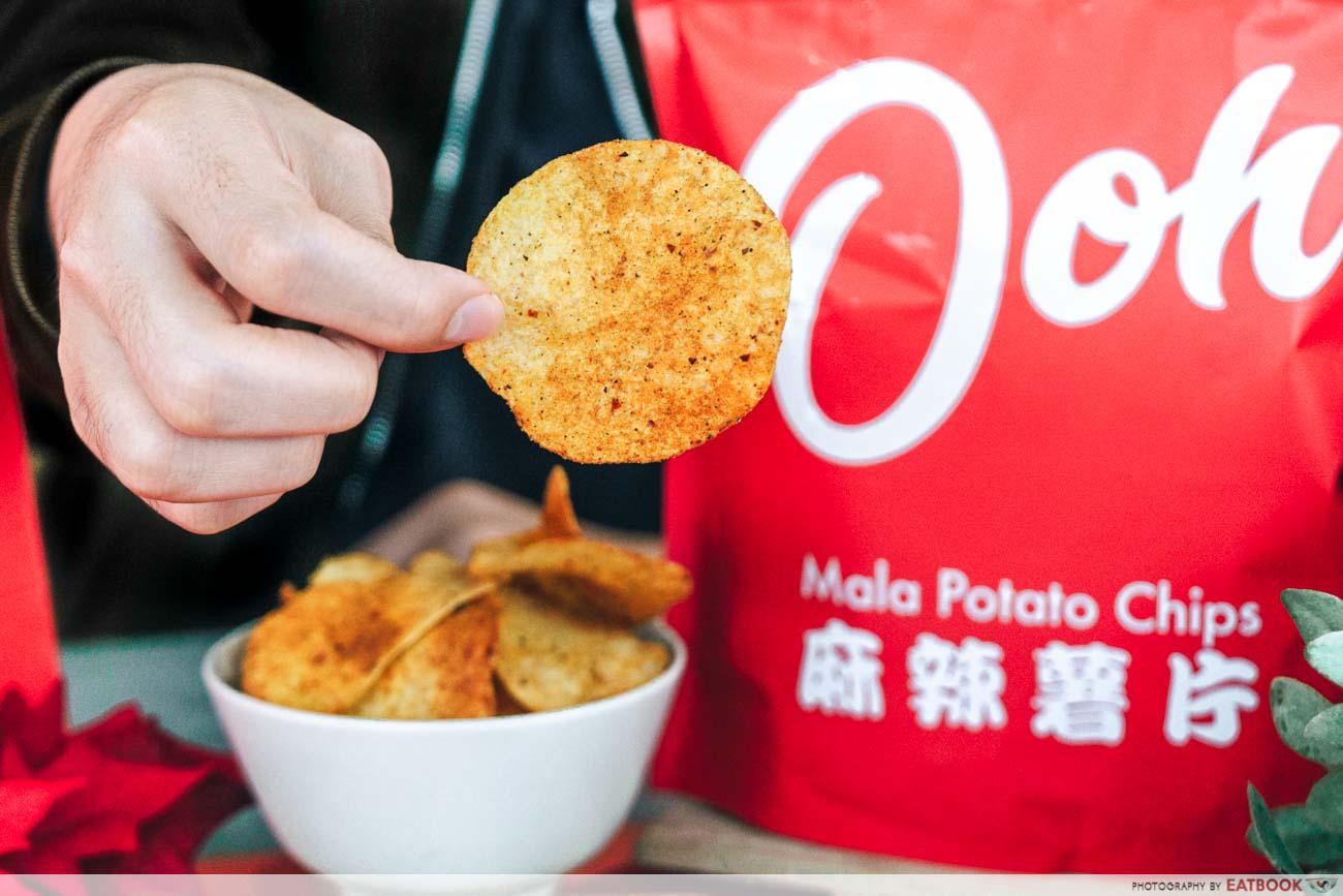 Ma La Restaurants in Town ooh ma la potato chips