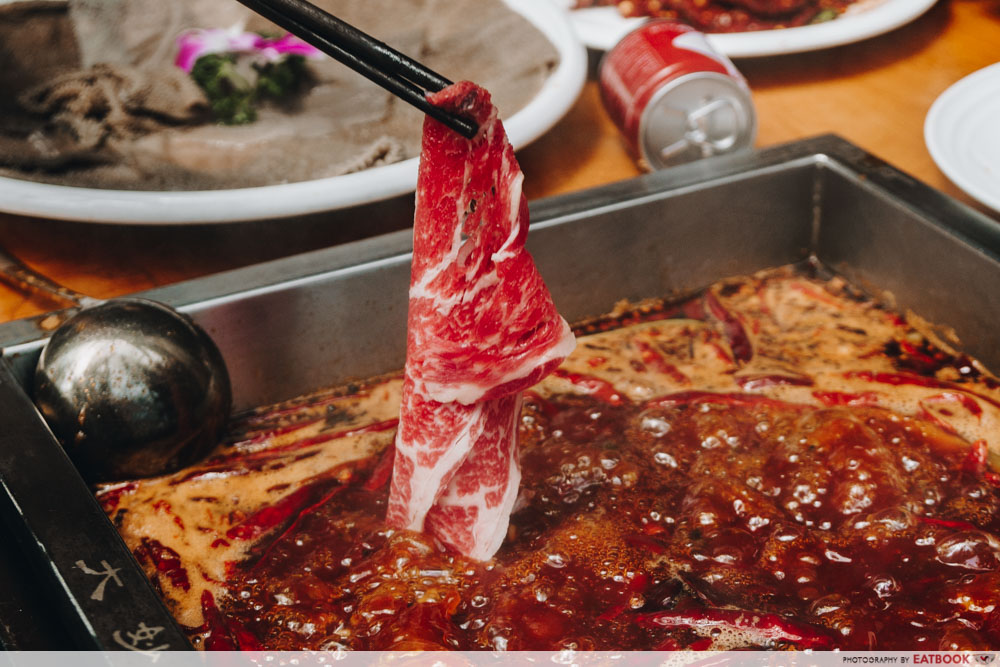 Ma La Restaurants in Town xiao lkong kan hotpot beef