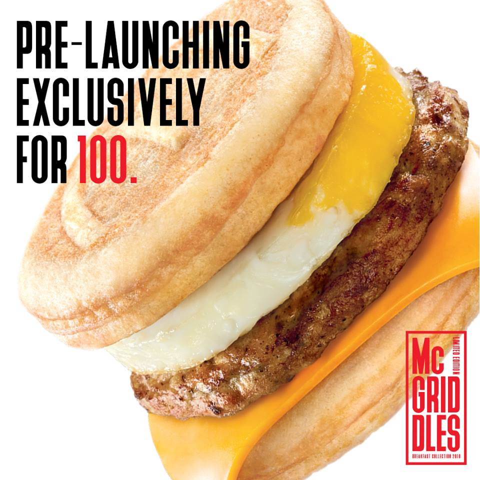 McGriddles - promo