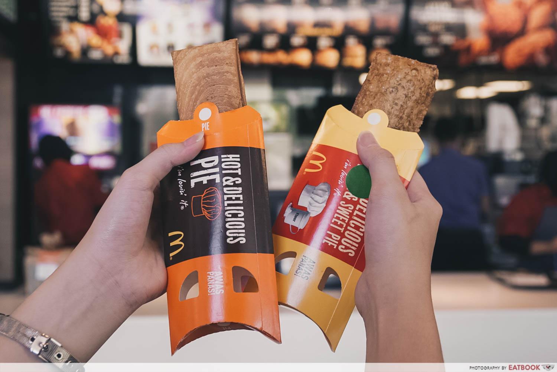 Mcdonald Malaysia New Dessert - Chicken Rendang Intro Shot