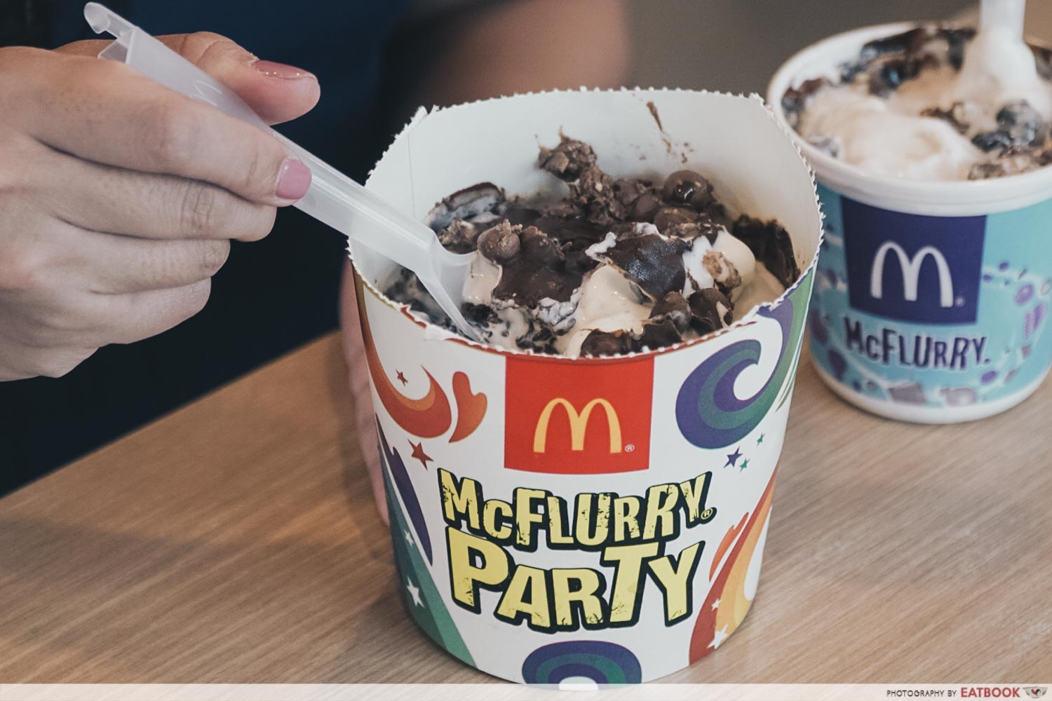 Mcdonald Malaysia New Dessert - Mcflurry Party