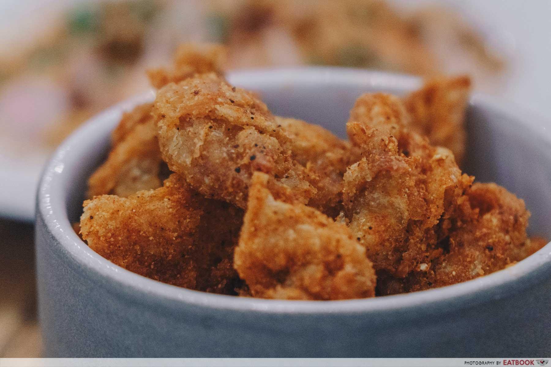 Pasta Supremo - Spiced Supremo Chickn Skins