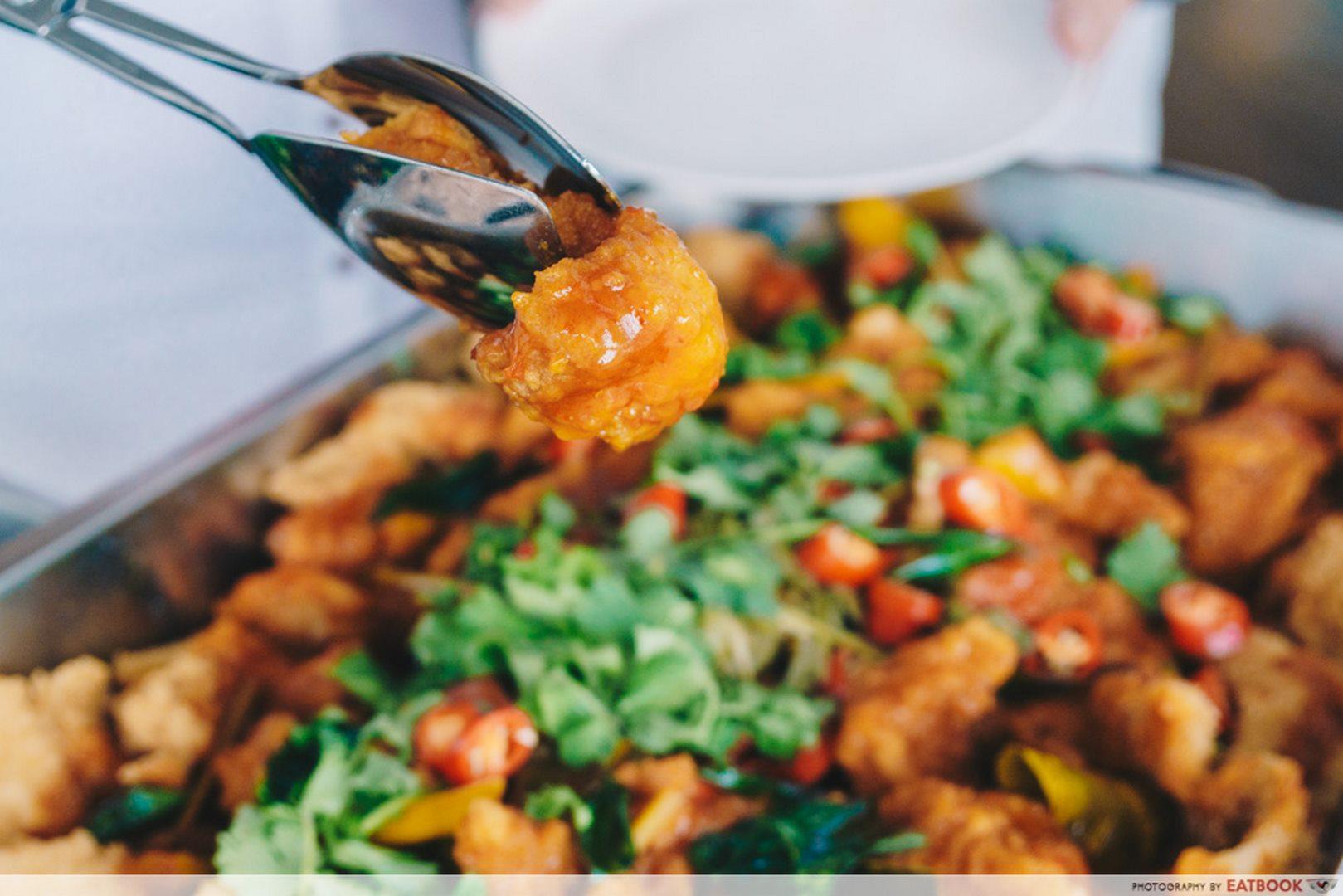 Rasel Catering chilli fish