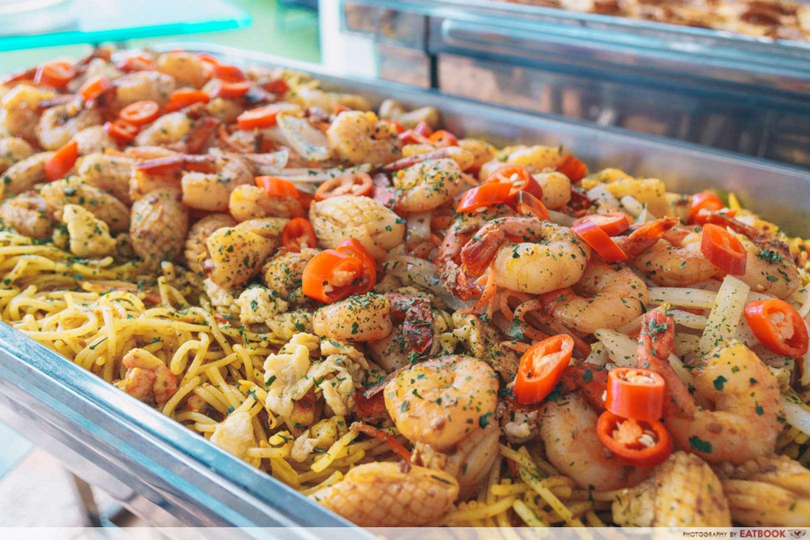 Rasel Catering laksa maggie goreng