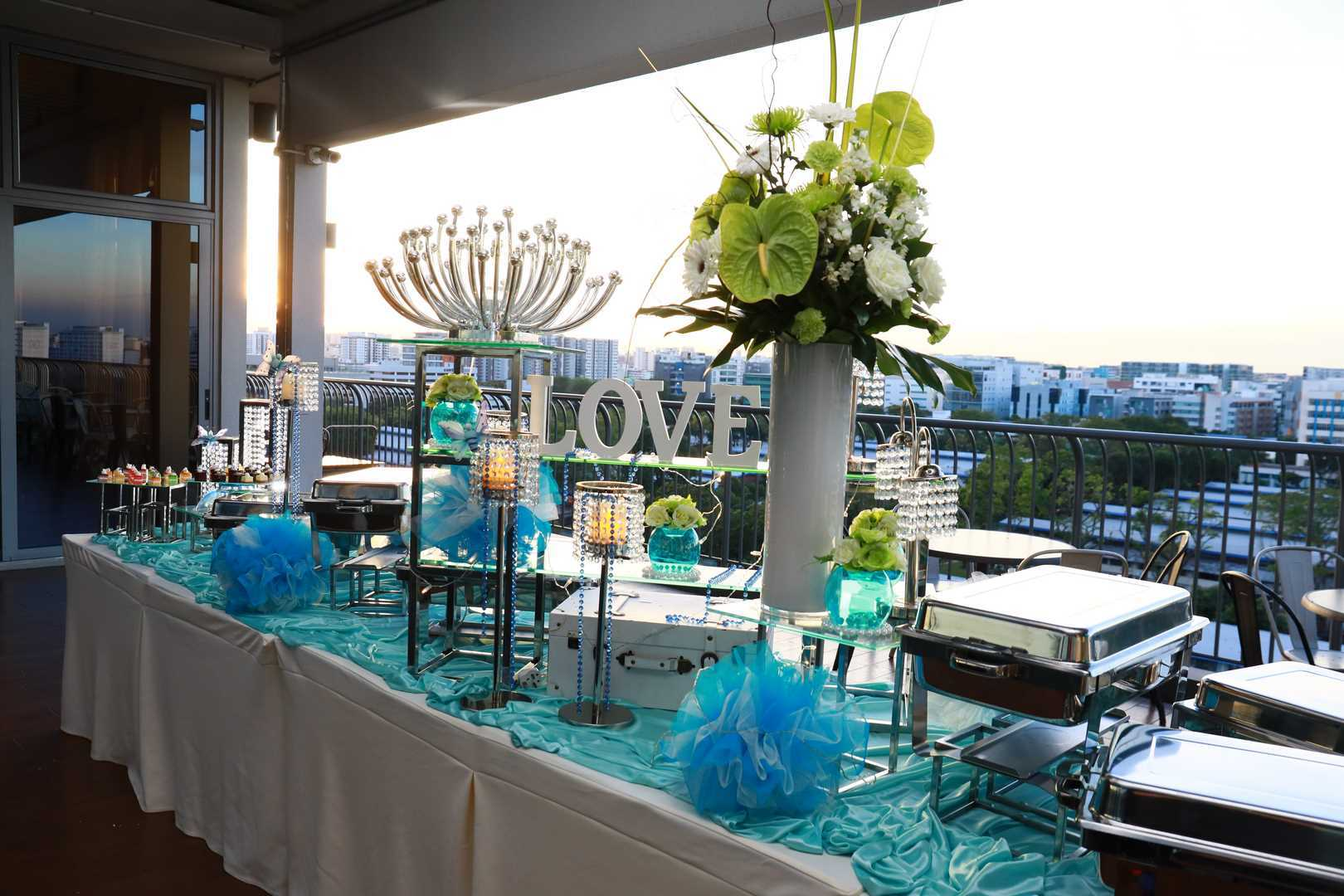 Rasel Catering nautical theme