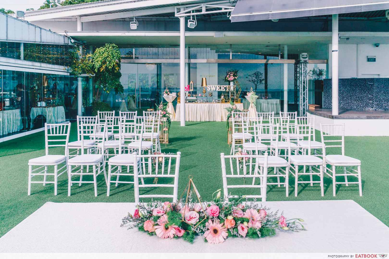 Rasel Catering outdoor wedding