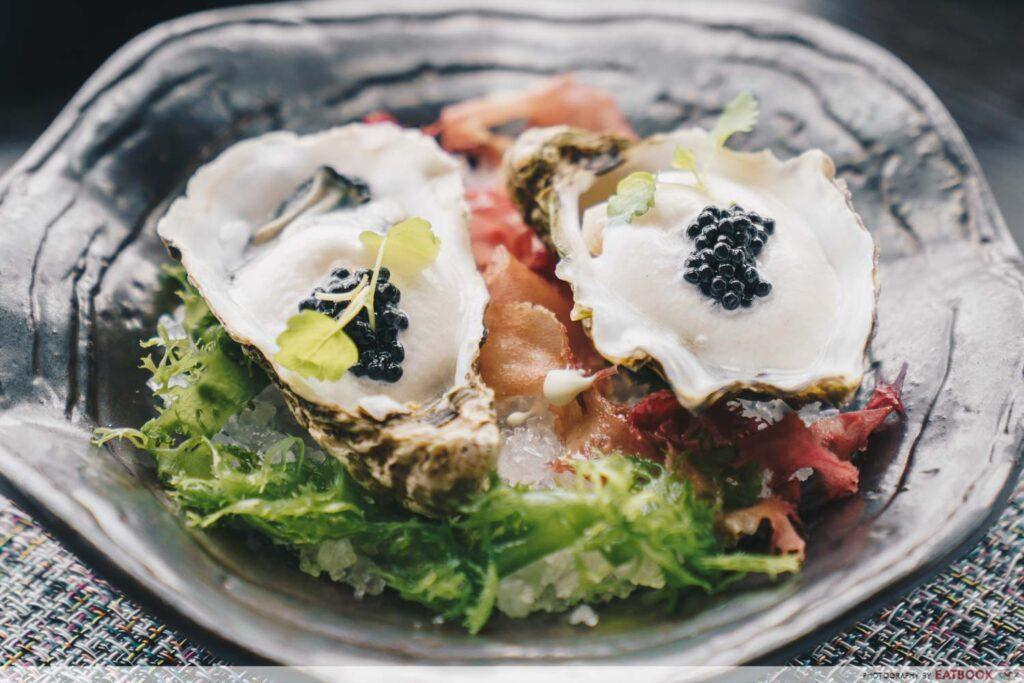 Skai Black Pearl Oysters