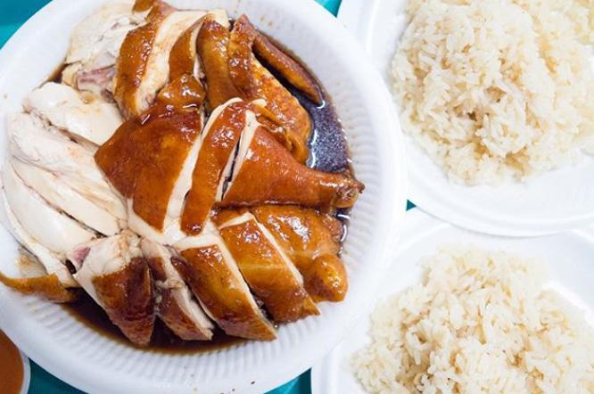 Soy Sauce Chicken - Ma Li Ya Virgin Chicken
