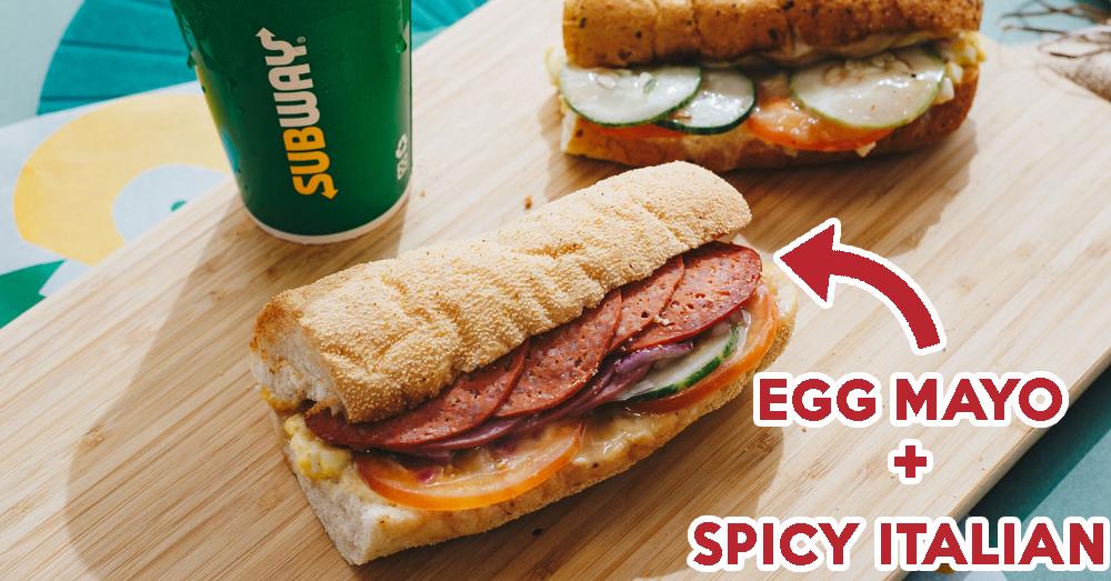 Subway Egg Mayo Feature Image