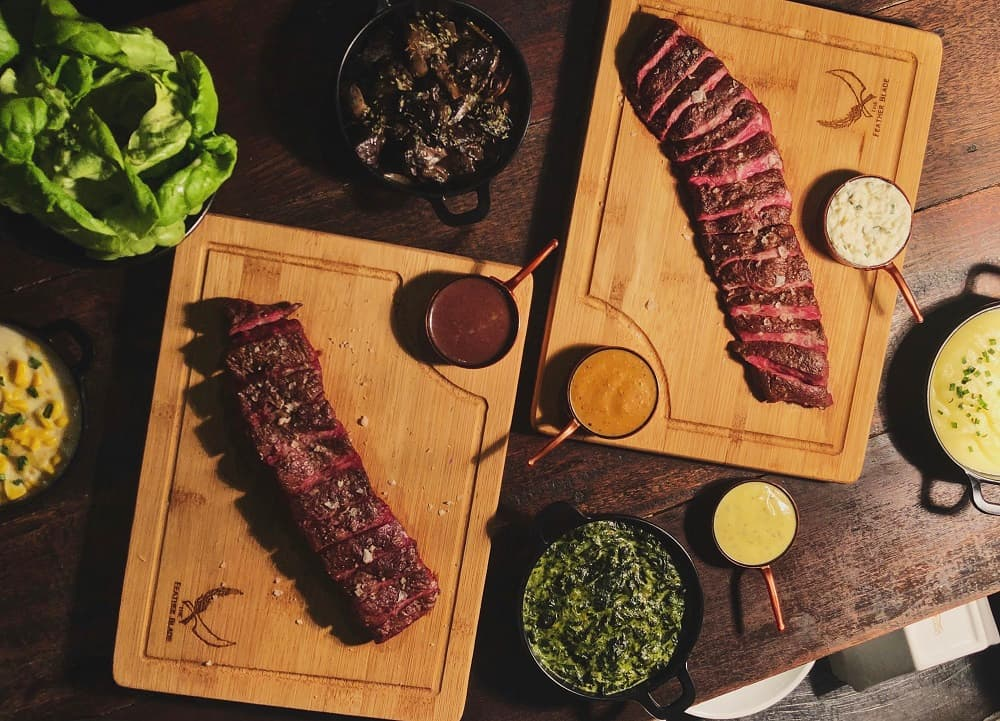The Feather Blade - Free Flat Iron Steak