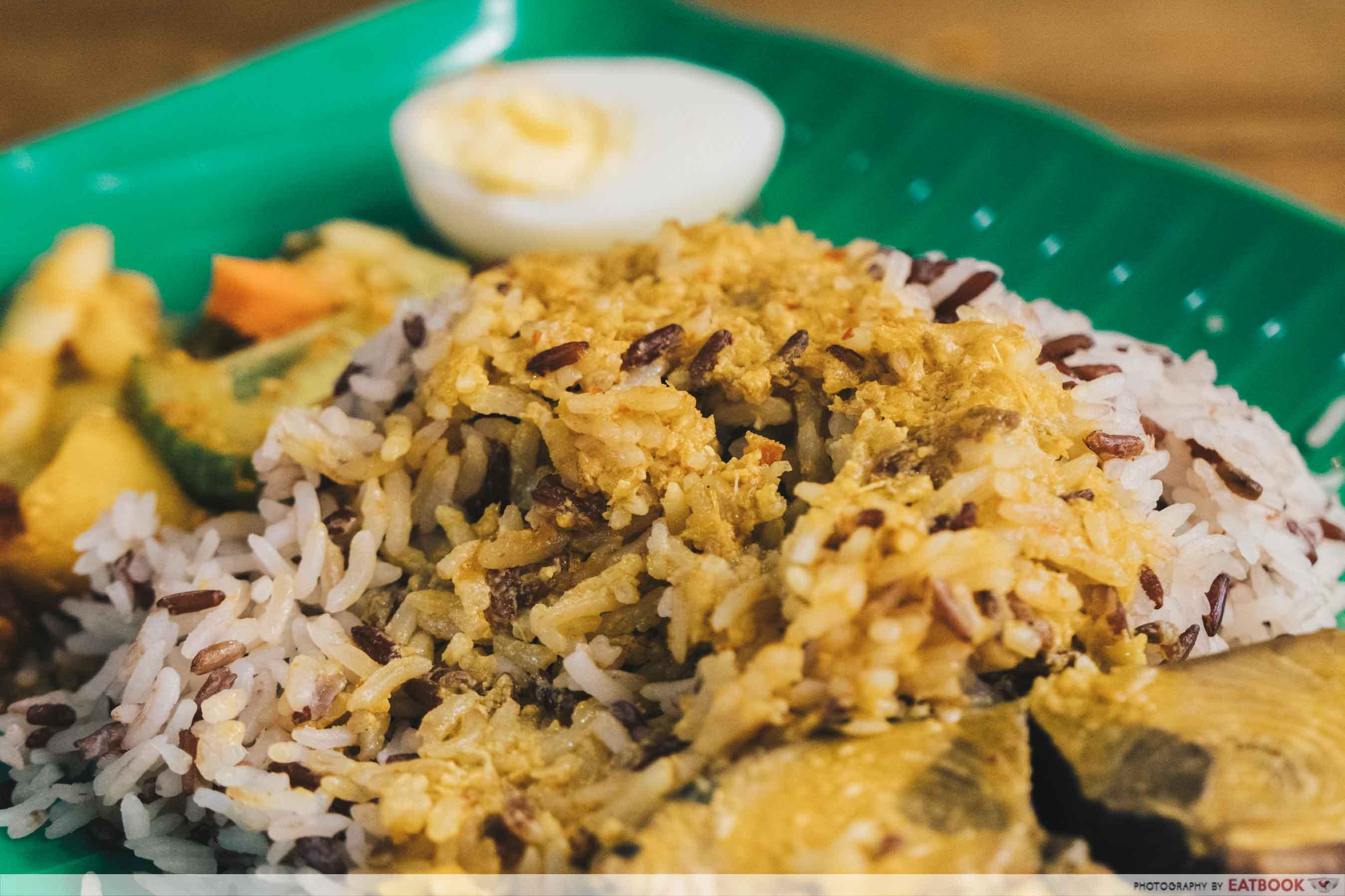 Yes Nasi Kukus nasi dagang fish curry