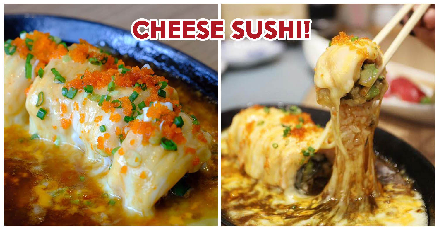 Gojuu Sushi - This Cheese-Drenched Sushi At Bangkok's Siam