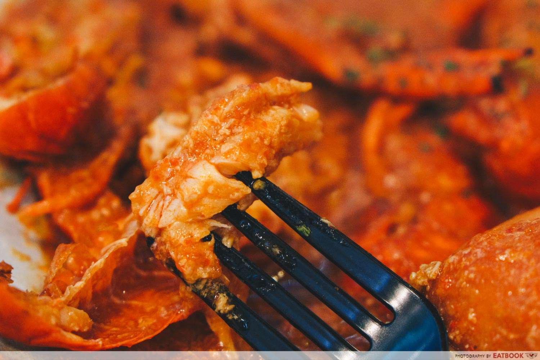 gosh! inspiring creations chilli crab sauce mini lobster meat