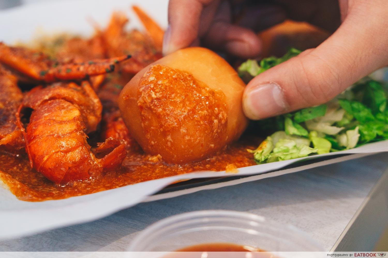 gosh! inspiring creations chilli crab sauce mini lobster sauce