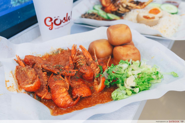 gosh! inspiring creations chilli crab sauce mini lobster