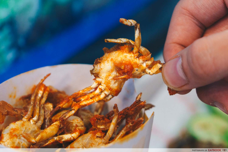 gosh! inspiring creations mini crabs close up