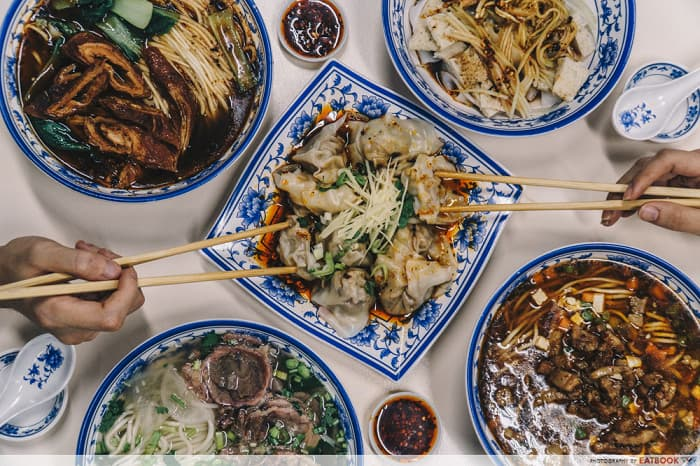 hawker stalls by ex restaurant chefs Shi Xiang Ge