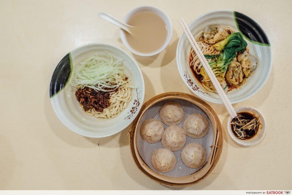 hawker stalls by ex restaurant chefs - Supreme Ramen Xiao Long Bao
