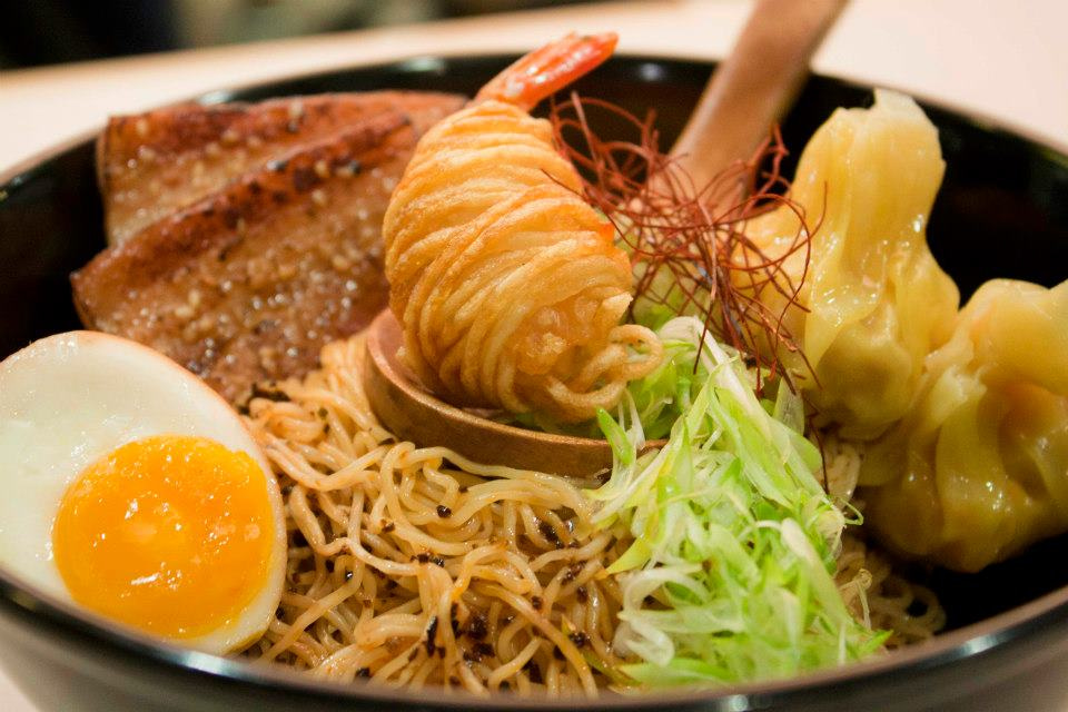 hawker stalls by ex restaurant chefs - a noodle story