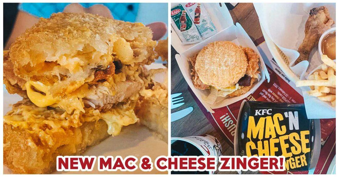 kfc mac and cheese zinger burger ft img