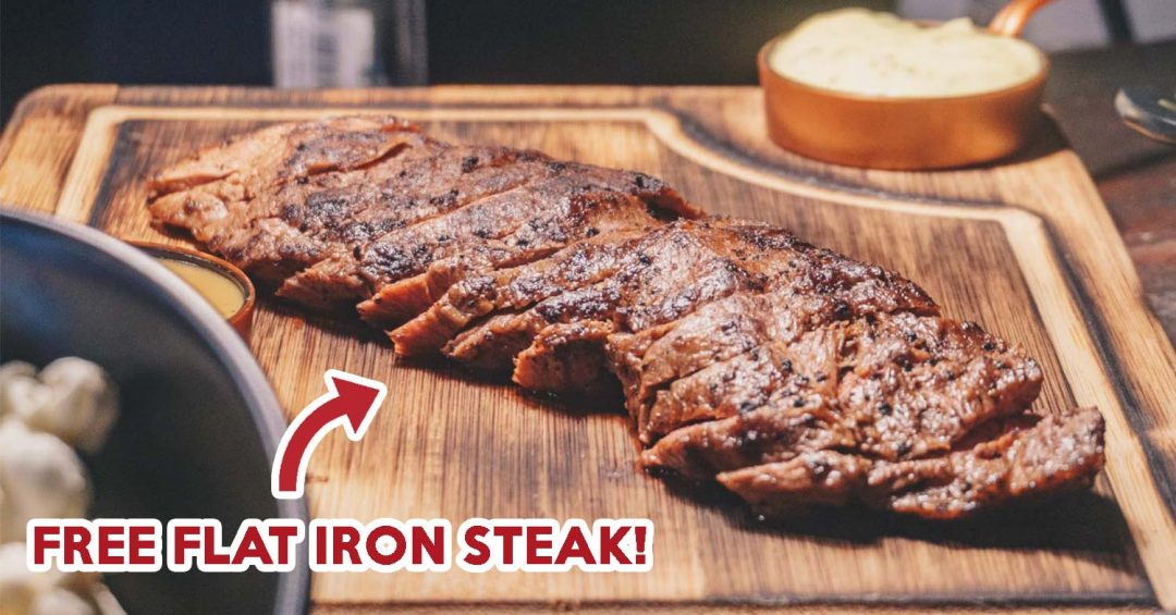 the feather blade flat iron steak