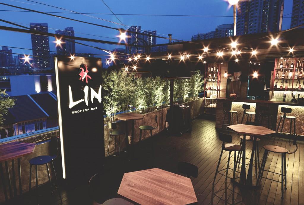 10 Rooftop Restaurants - Lin rooftop bar ambience