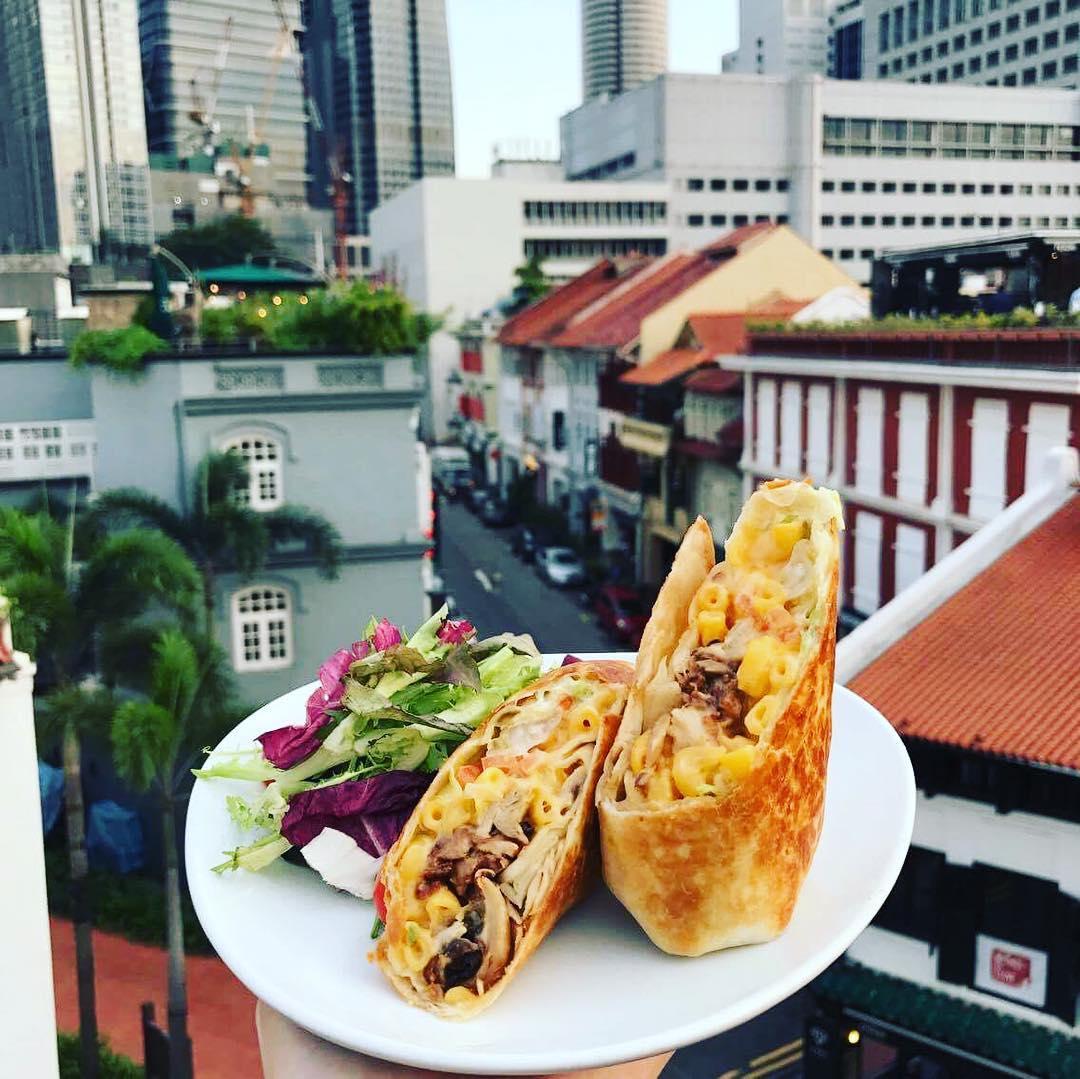 10 rooftop restaurants - fry rooftop food