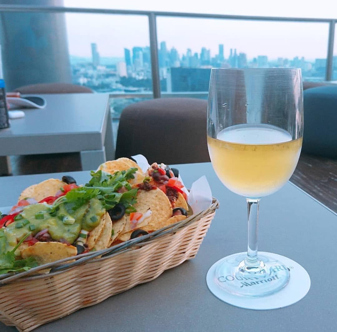 10 rooftop restaurants - urbana nachos
