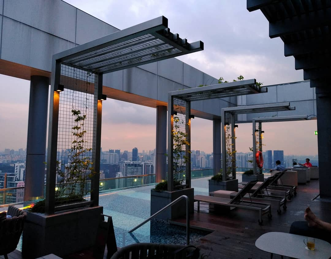 10 rooftop restaurants - urbana rooftop bar