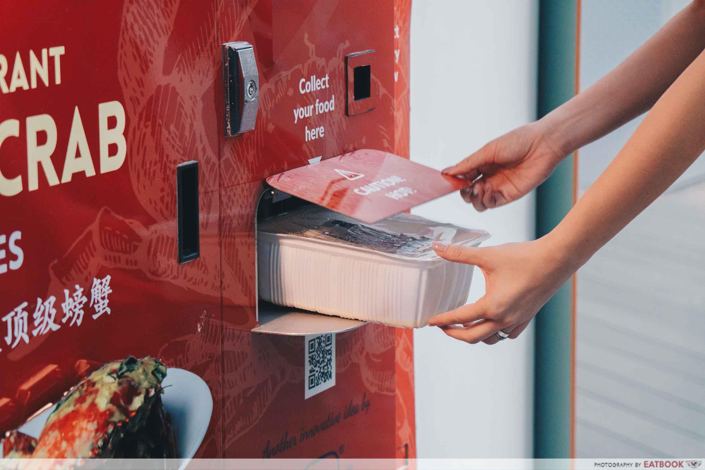 AdVENDture Sentosa Broadwalk Vending Machines - House of seafood