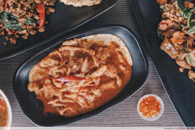 Baan khun nai dry curry chicken
