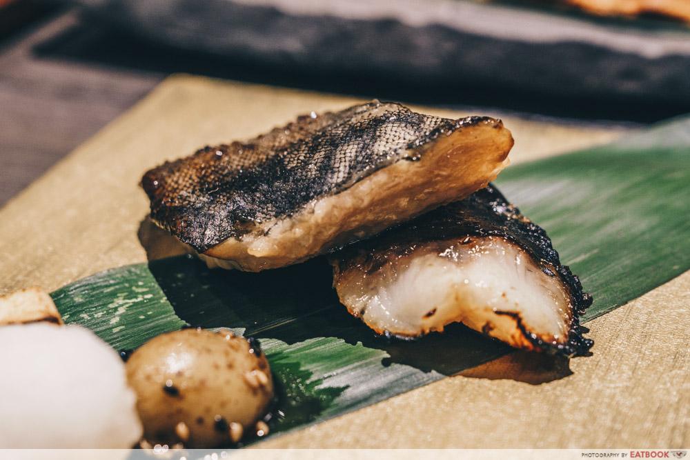 Charcoal-Grill & Salad Bar Keisuke Miso Black Cod