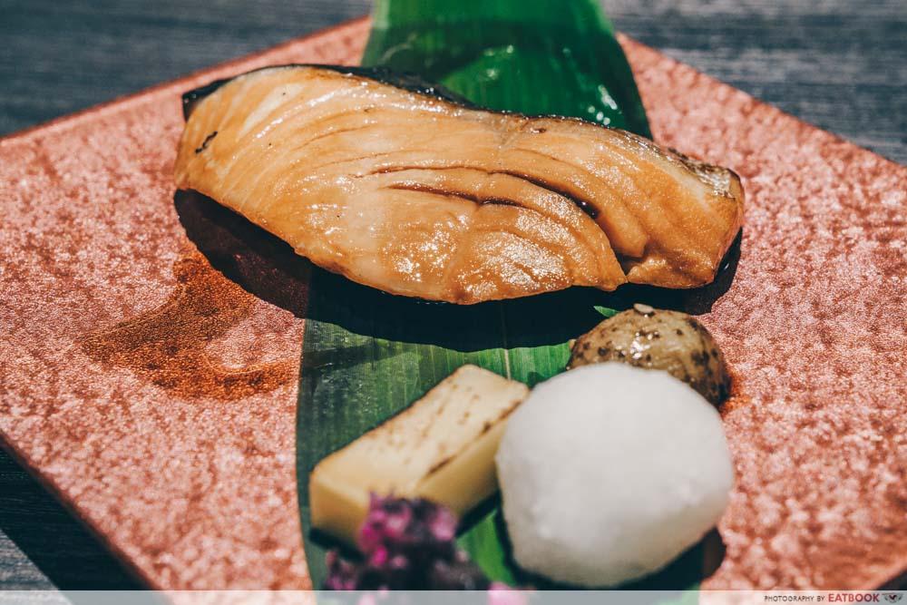 Charcoal-Grill & Salad Bar Keisuke Teriyaki Salmon