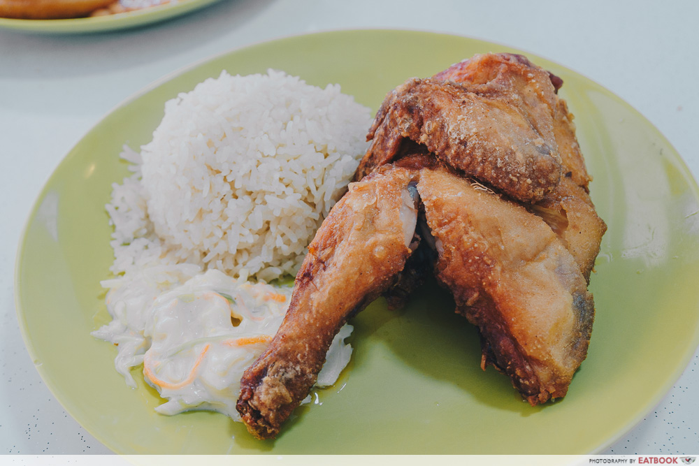 Chicken Supremo - spring chicken
