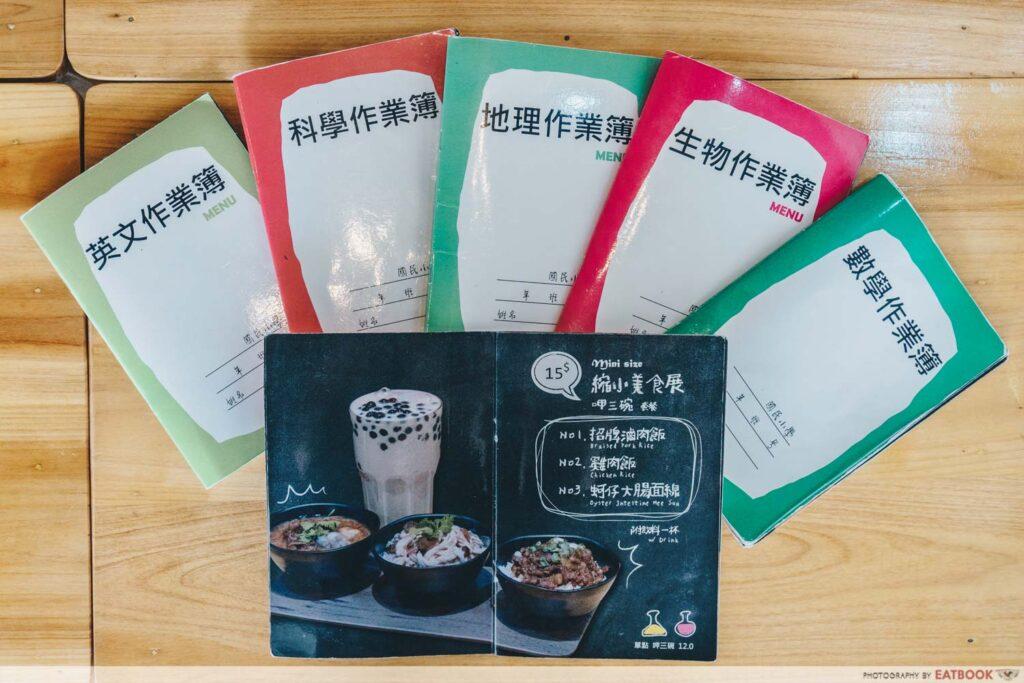 Eat 3 Bowls menu